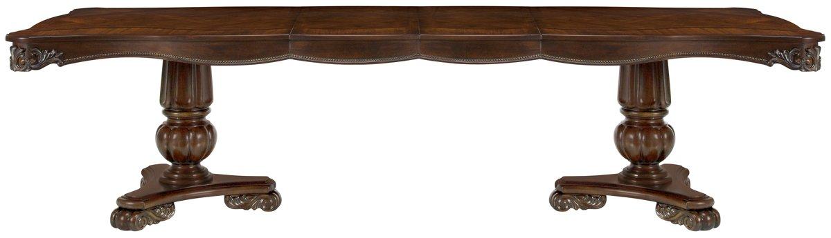 Regal Dark Tone Wood Rectangular Table