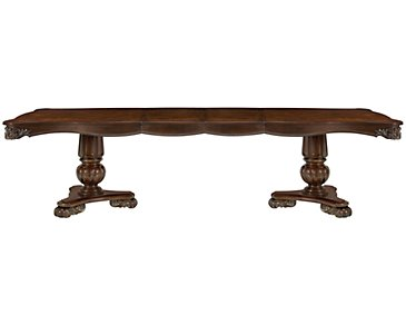 Regal Dark Tone Rectangular Table