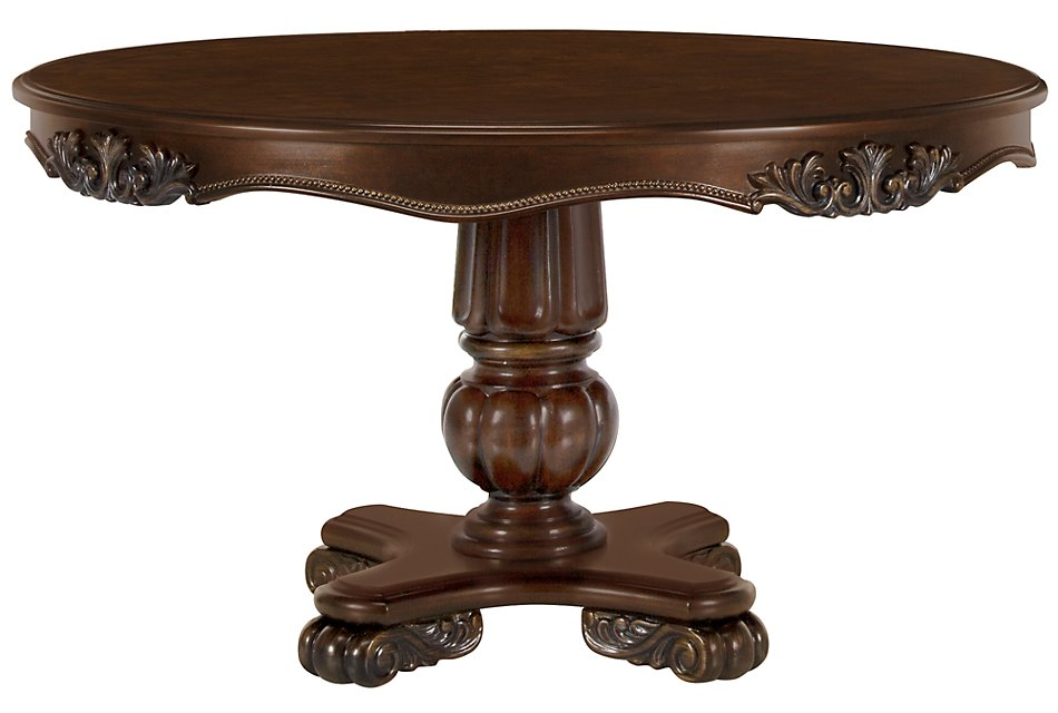Sensational Regal Dark Tone Round High Low Table Dining Room Tables Gmtry Best Dining Table And Chair Ideas Images Gmtryco