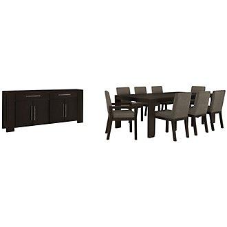 Tocara Dark Tone Rectangular Dining Room
