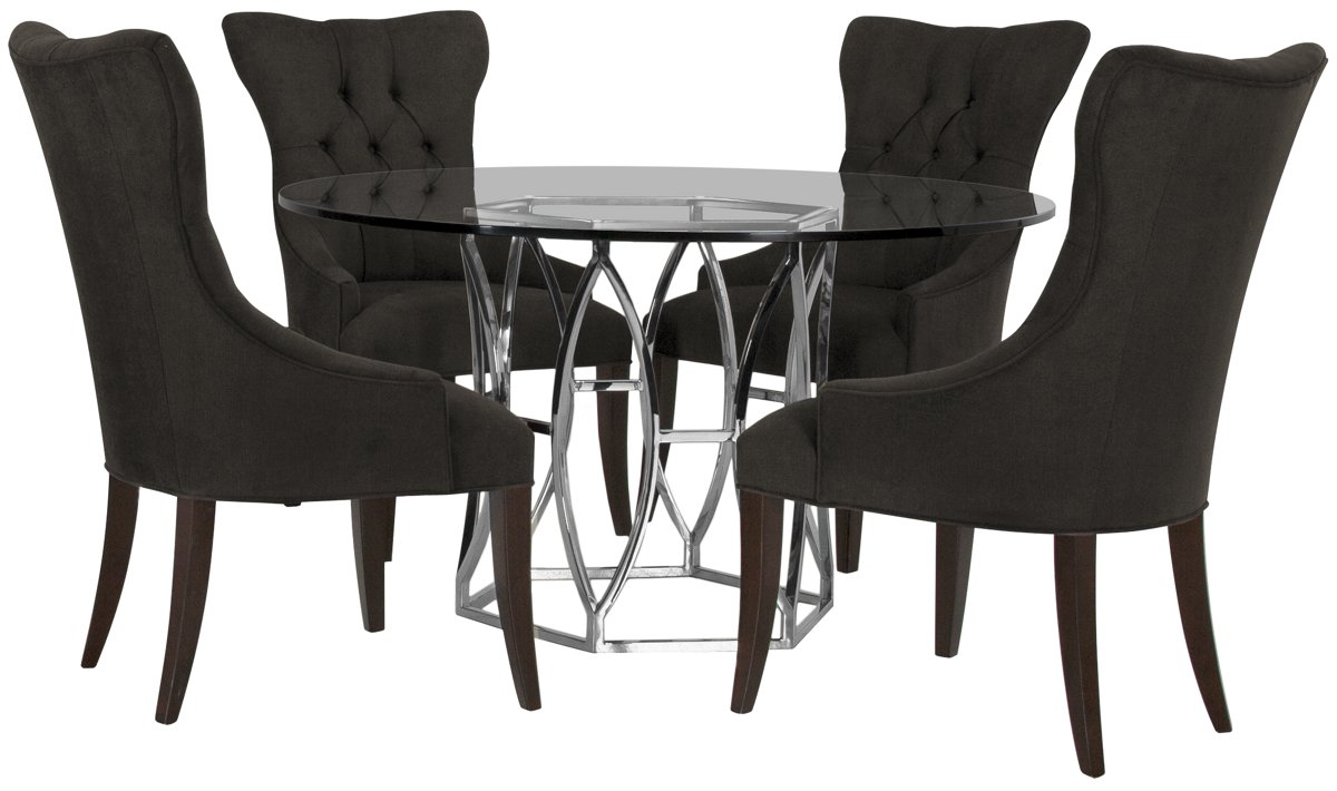 City Furniture Argent Dk Gray Round Table amp 4 Upholstered  : G1309704480N00wid1200amphei1200ampfmtjpegampqlt850ampopsharpen0ampresModesharp2ampopusm1180ampiccEmbed0 from www.cityfurniture.com size 1200 x 1200 jpeg 100kB