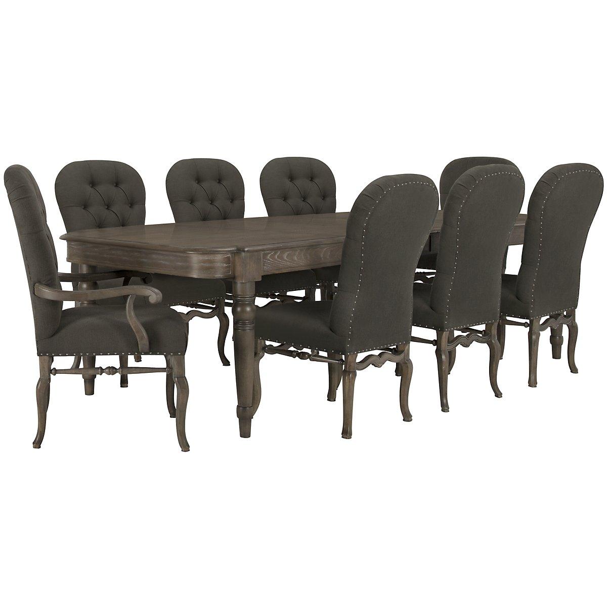 City furniture belgian oak light tone upholstered side chair for Oak bedroom furniture 0 finance