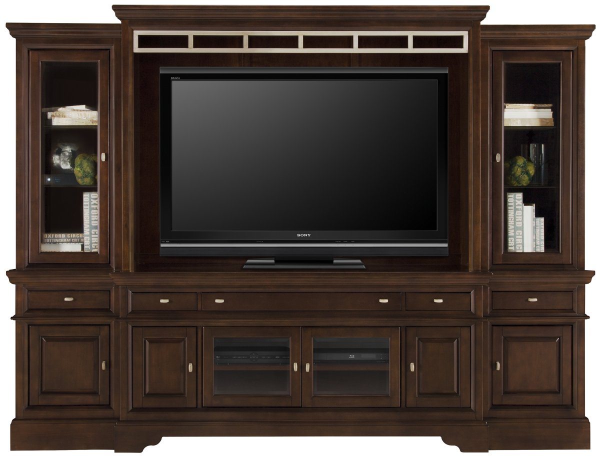 city furniture: canyon mid tone entertainment unit