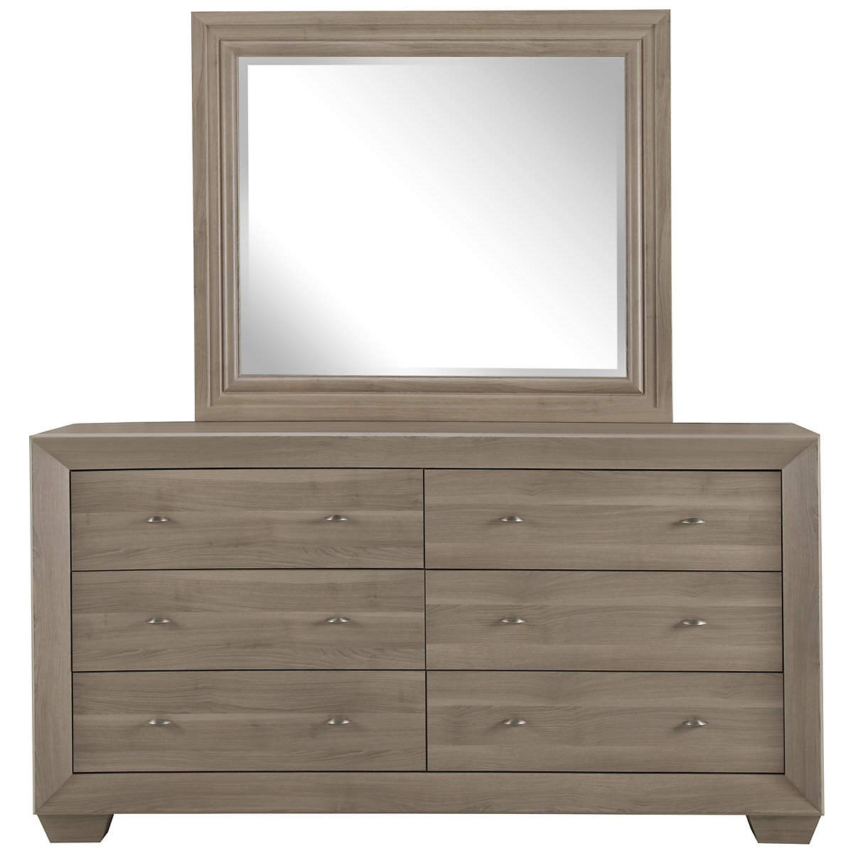 City Furniture Adele2 Light Tone Dresser Mirror