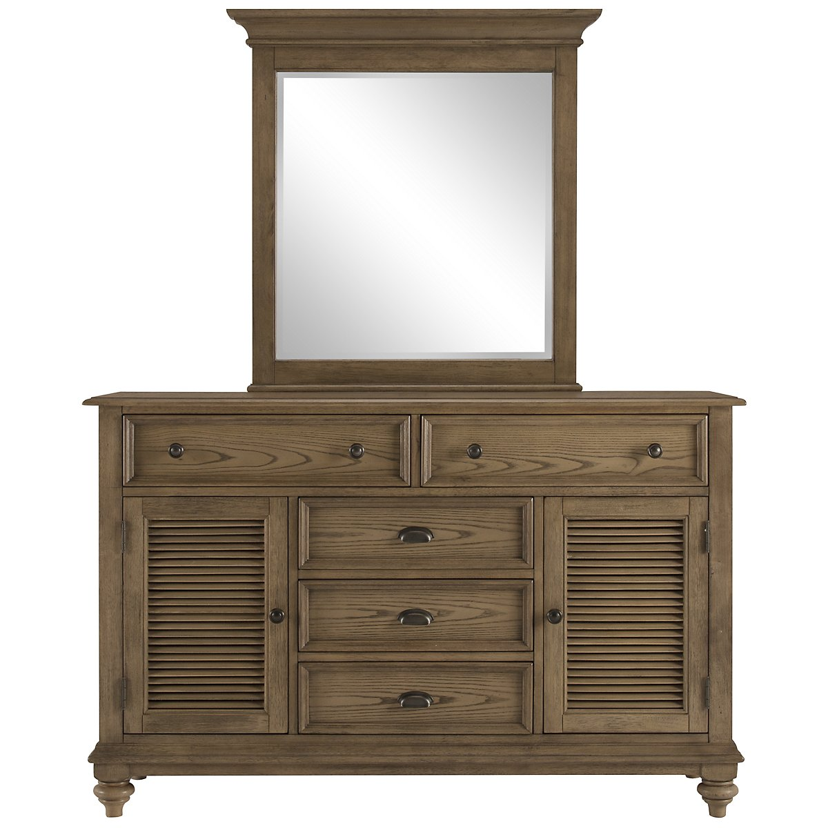 Coventry Light Tone Dresser & Mirror
