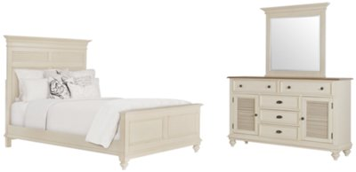 Beautiful Coventry Two Tone Panel Bedroom