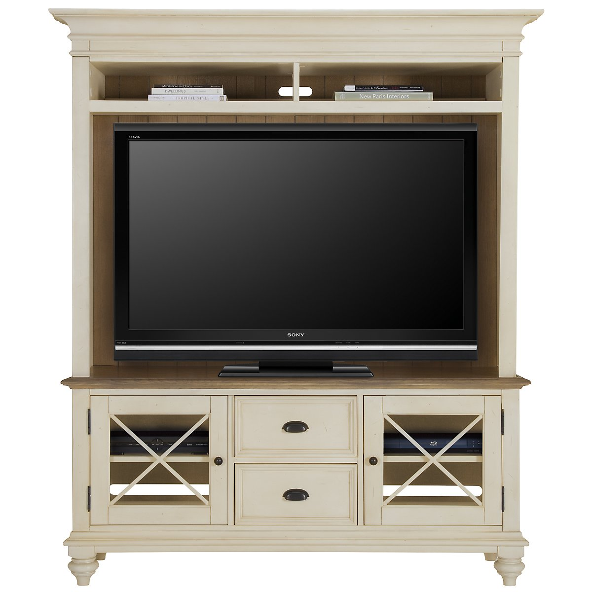 Coventry Two-tone Entertainment Unit