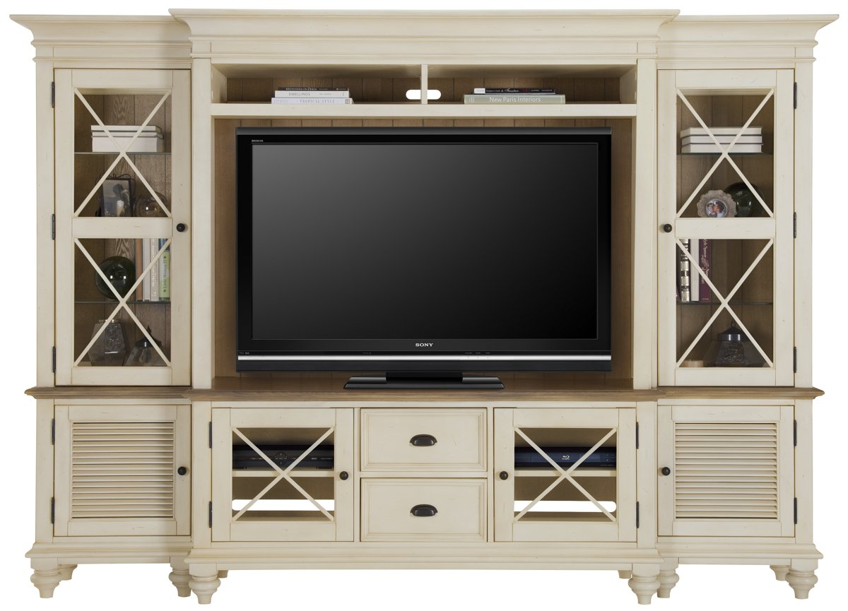 Greatest City Furniture: Coventry Two-Tone TV Stand XQ41
