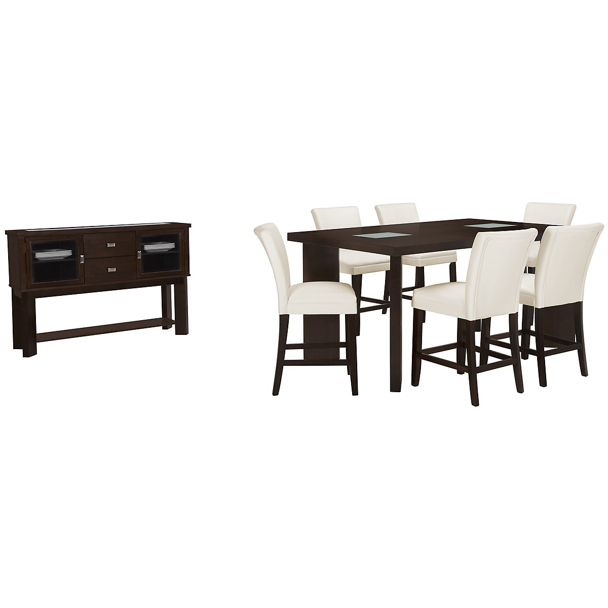Delano2 White High Dining Room