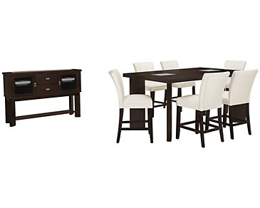 Delano2 White High Dining Room