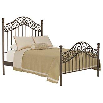 Tradewinds Metal Poster Bed
