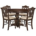 Tradewinds Dark Tone Round High Dining Room