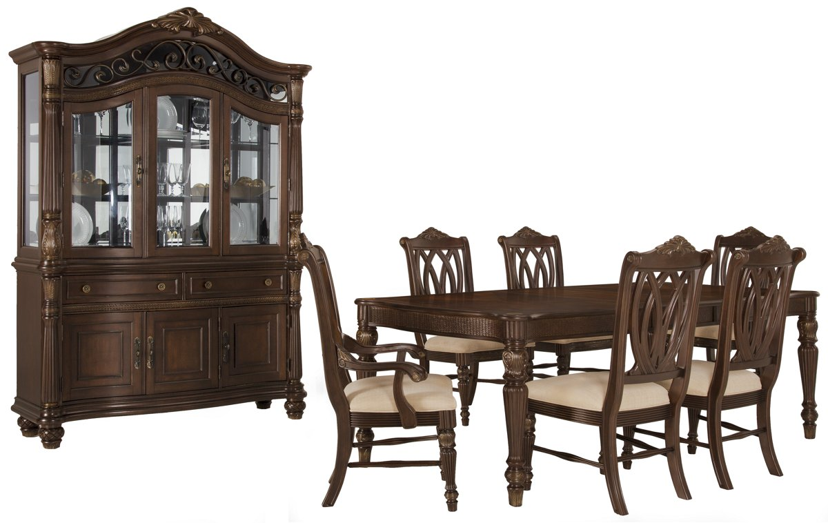 City Furniture Tradewinds Dark Tone Rectangular Dining Room