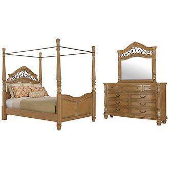 Tradewinds Light Tone Canopy Bedroom