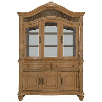 Tradewinds Light Tone China Cabinet