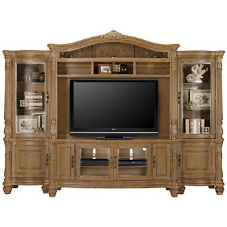 Tradewinds Light Tone Entertainment Wall