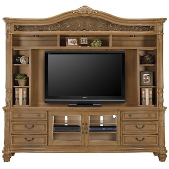 Tradewinds Light Tone Entertainment Unit