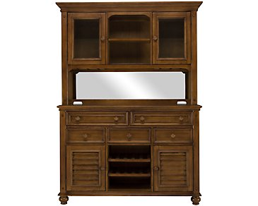 Claire Mid Tone China Cabinet