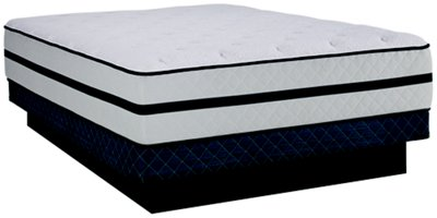 Kevin Charles Wellspring Luxury Firm Innerspring Low-Profile Mattress Set
