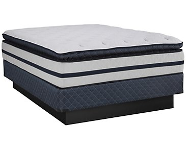 Kevin Charles Reflection Plush Innerspring Pillow Top Mattress Set