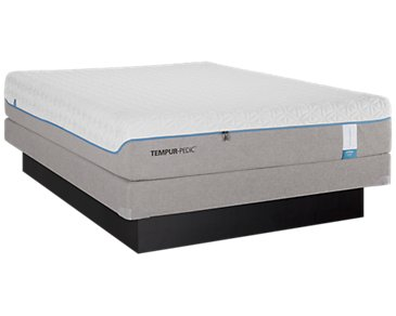TEMPUR-Cloud® Supreme2 Low-Profile Mattress Set