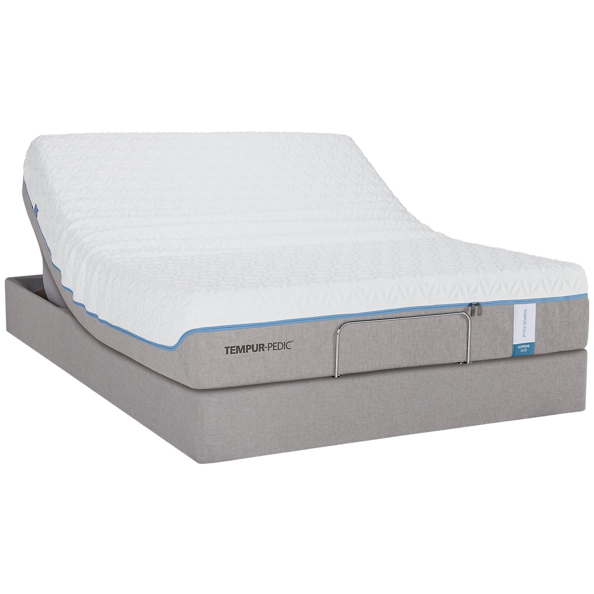 TEMPUR-Cloud® Supreme2 TEMPUR-UP™ Adjustable Mattress Set