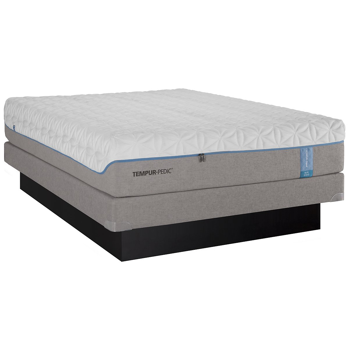 TEMPUR-Cloud® Elite Low-Profile Mattress Set