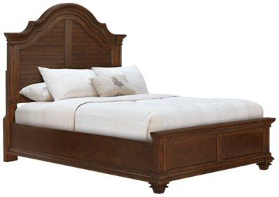 Antigua Mid Tone Panel Bedroom