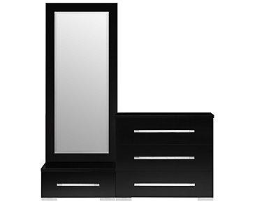Dimora Black Wardrobe