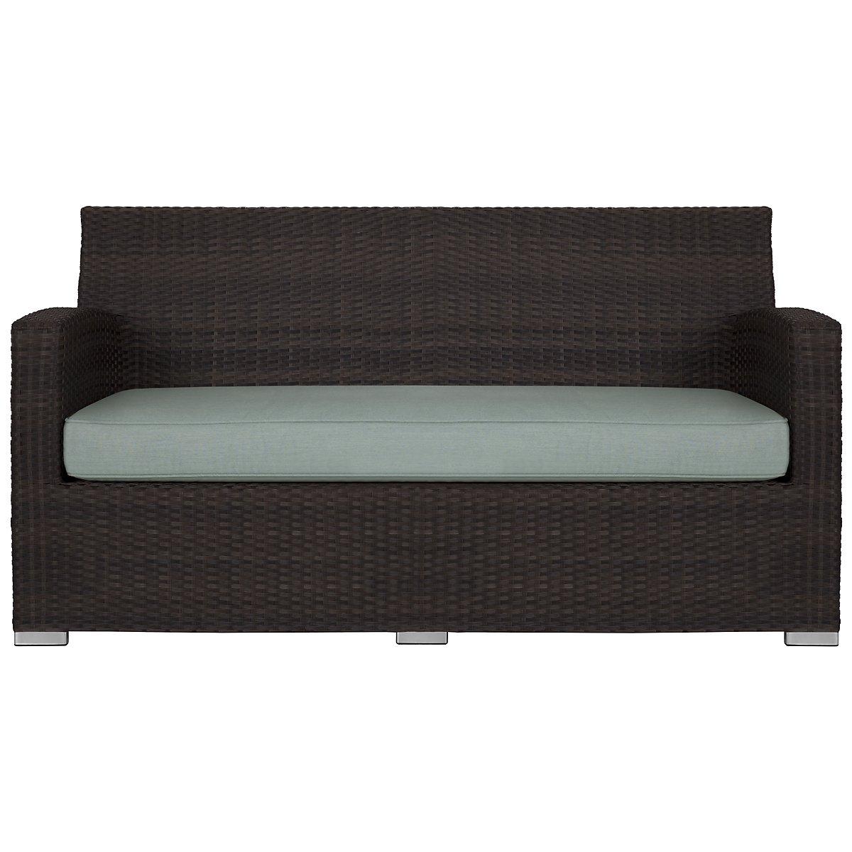Grate Teal Sofa