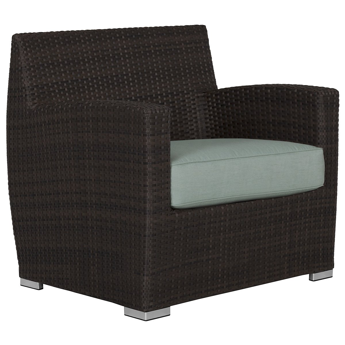 Grate Teal Chair
