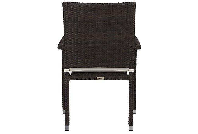 Zen White Arm Chair