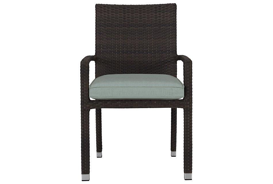 Zen Teal  Arm Chair