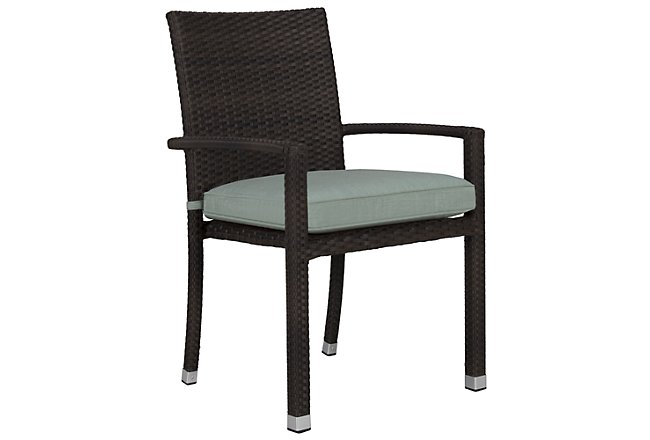 Zen Teal Arm Chair