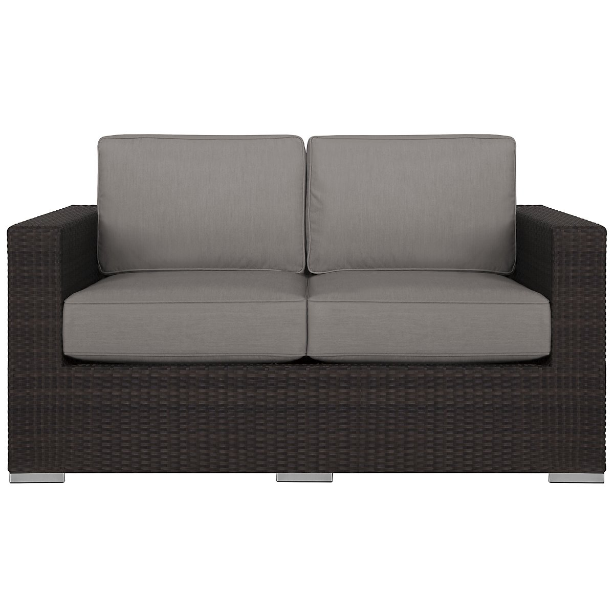Fina Gray Loveseat