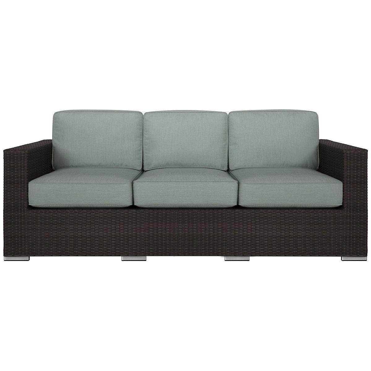 Fina Teal Sofa