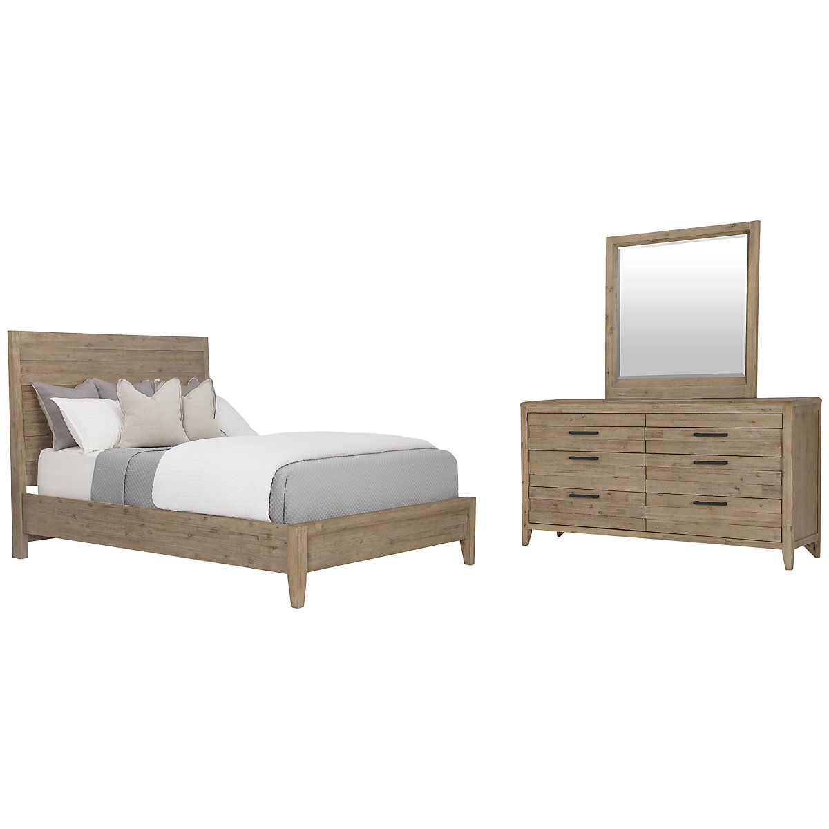 Casablanca Light Tone Panel Bedroom