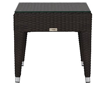 Zen Dark Tone End Table