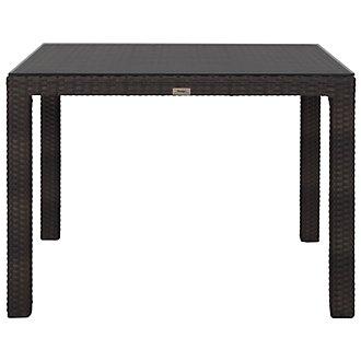 "Zen Dark Tone 40"" Square Table"