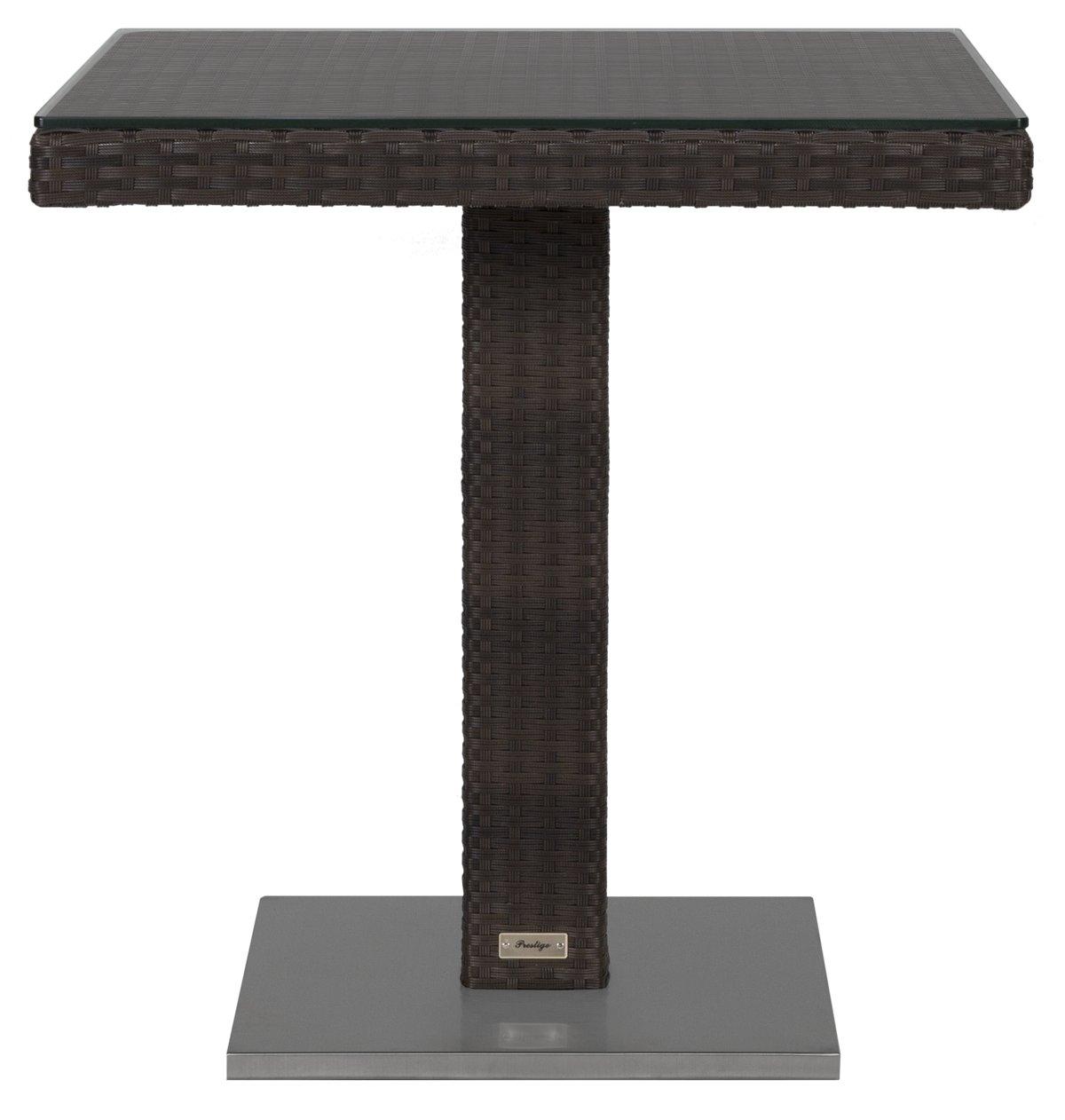 Zen Dark Tone Square Table
