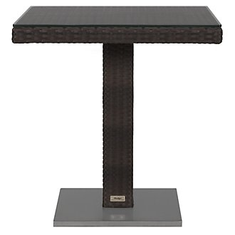 "Zen Dark Tone 27"" Square Table"