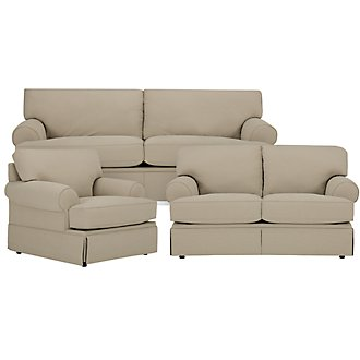 Hutton Living Room Microfiber Furniture