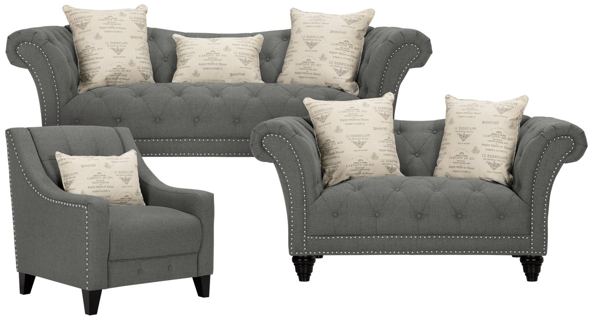 Hutton Living Room Furniture At City Furniture