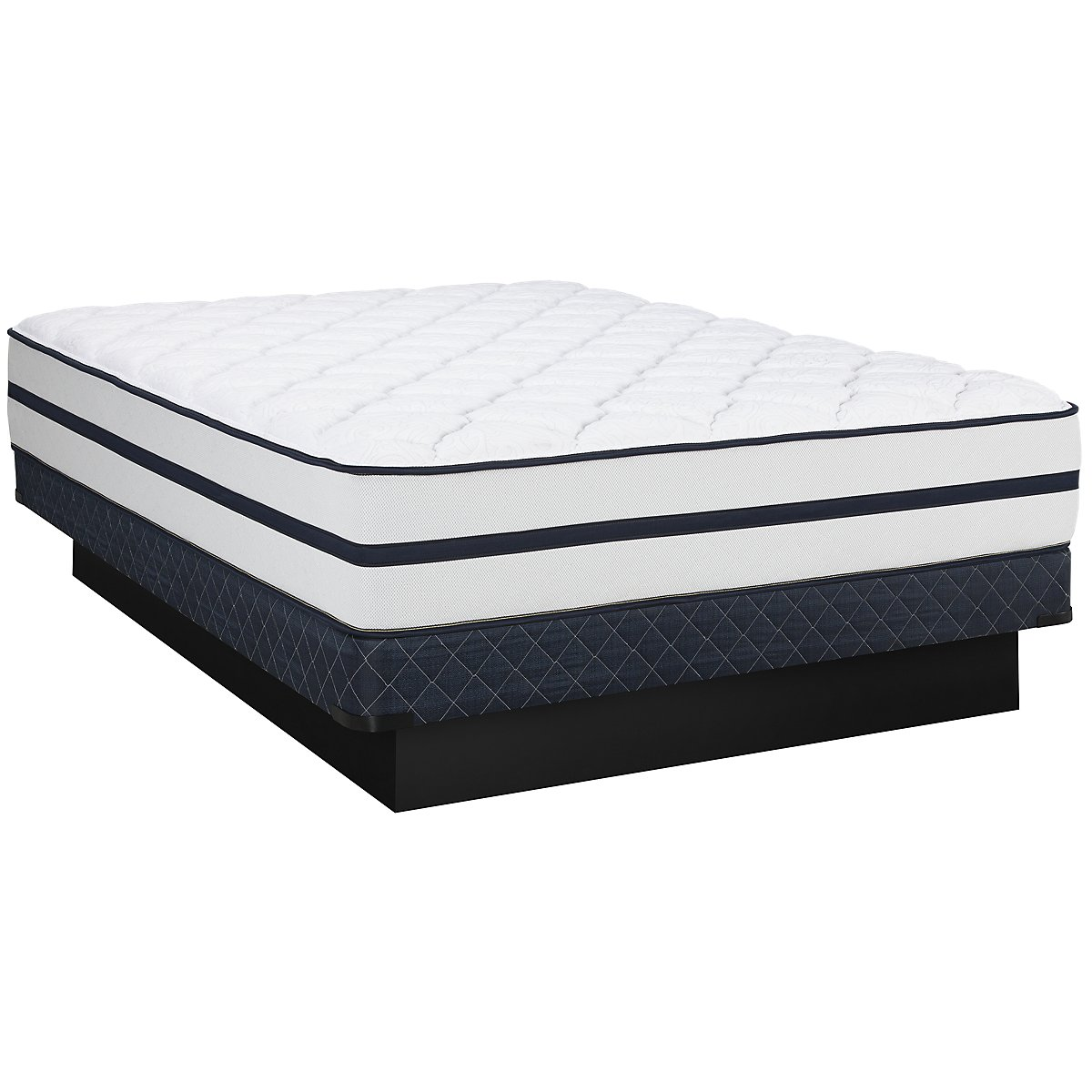 Kevin Charles Marina Luxury Firm Innerspring Low-Profile Mattress Set