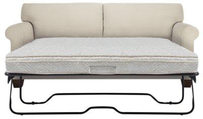 corlis light beige fabric innerspring sleeper