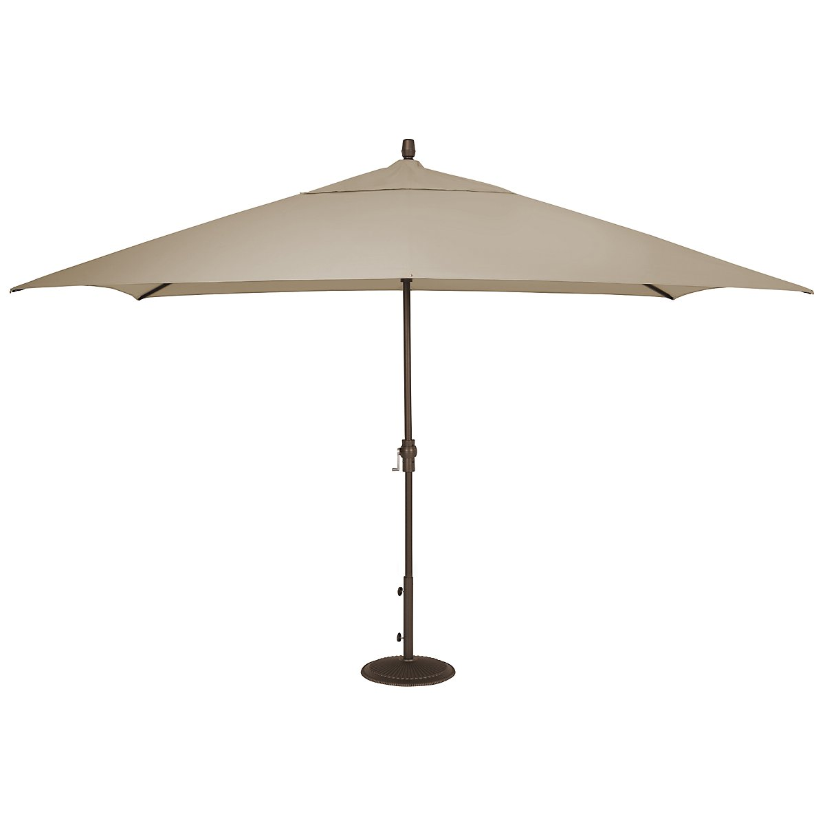 Primera Khaki Rectangular Umbrella Set
