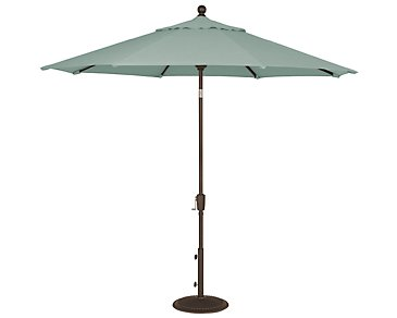 Maui Teal Umbrella Set