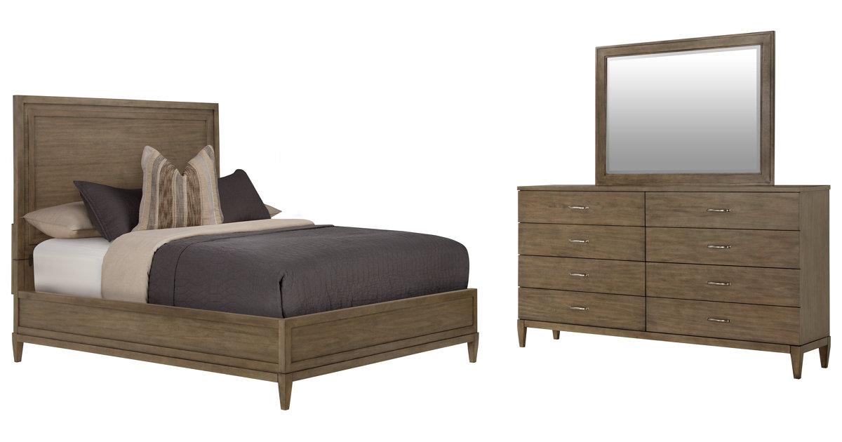 City Furniture Preston Gray Wood Platform Bedroom