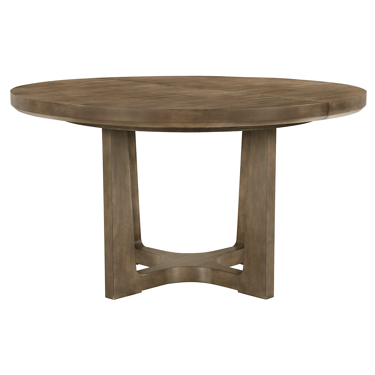 Preston Gray Round High/Low Table