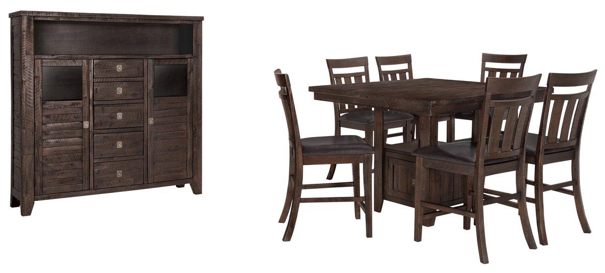 Kona Grove Dark Tone Wood Large Dining Room